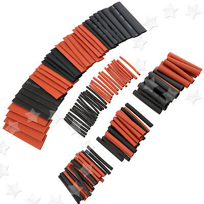 127Pcs Assortment Heat Shrink Sleeve Electrical Cable Tube Tubing Wrap Wire