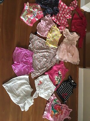 Bulk Buy- Baby Girls Clothing 12-18 Months / Size1 /18-24 Months 14 Pieces