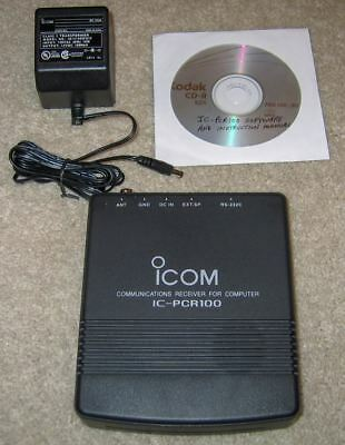 Icom IC-PCR100 Computer-controlled Communications Receiver