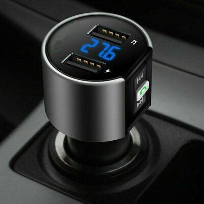 MPOW Wireless Bluetooth Car FM Transmitter MP3 Radio Adapter Car USB Charge NEW