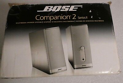 Bose Companion Two Series 11 Speakers In Box Black