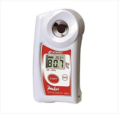 ATAGO Digital Hand-Held Pocket Refractometer PAL-2 Brand New from Japan NEW