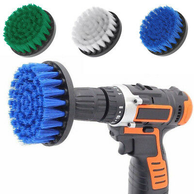 Electric Drill Turbo Brush Leather Carpet Upholstery Decking Home Cleaner Clean