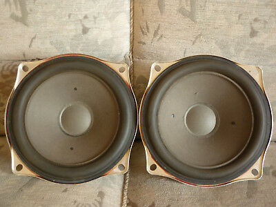 pair Grundig vintage woofers 7019 full working good condition worldw. shipping
