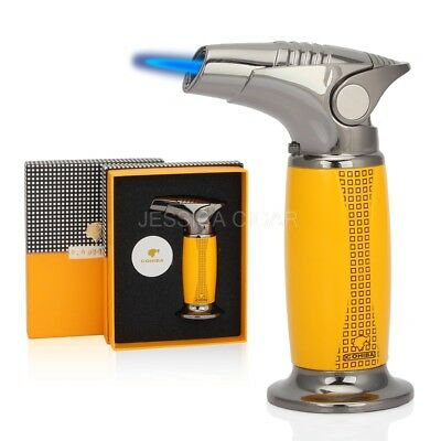 COHIBA Pocket Rocket Single Jet Flame Butane Cigarette Cigar Torch Lighter