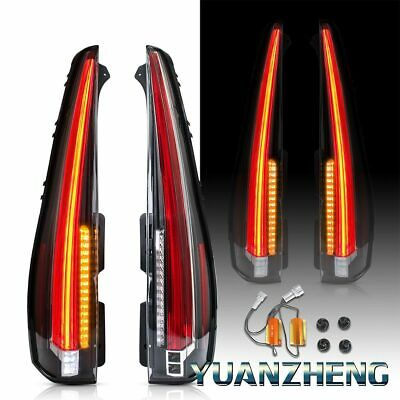 Escalade Style LED Tail Lights For 2007-2014 Chevy Tahoe / Suburban Rear Lamp