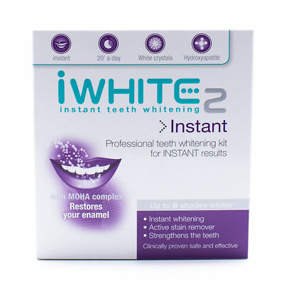 Details about  iWhite Instant 2 Teeth Whitening Professional Kit for all