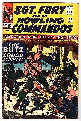 Sgt. Fury and His Howling Commandos #20, Very Good Condition