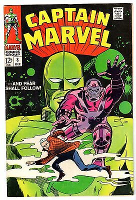 Captain Marvel #8, Very Fine Condition