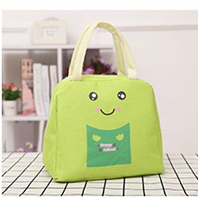 Cartoon Animal Lunch Bag Portable Insulated Cooler Bags Picnic Lunchbox K2