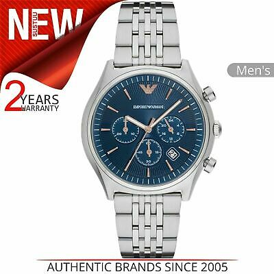 Emporio Armani Classic Men's Watch AR1974¦Chronograph Dial¦Stainless Steel Strap