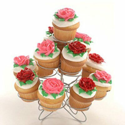 Cupcake Stand Tier Round Stacked Party For Birthdays Weddings Showers Parties N2