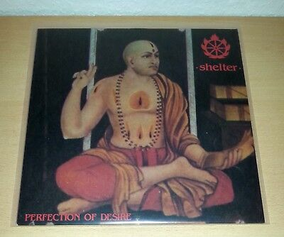 SHELTER - Perfection Of Desire LP OIS 1st.press 1990 +++ Youth Of Today Cro Mags