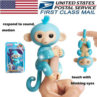 Toys For Girls Kids Finger Monkey for 3 7 8 9 10 Years Olds Age Xmas Gift