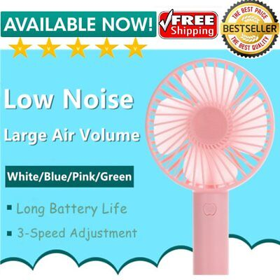 Portable Size USB Handheld Air Conditioner Cooling Fan Summer Cooling Fan E11