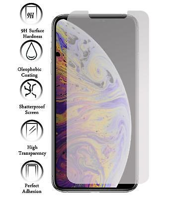 Kit Protector de Pantalla Cristal Templado Vidrio 9H para Apple Iphone XR
