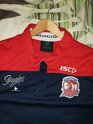 Sydney Roosters Polo Shirt XL
