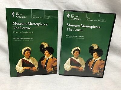 The Great Courses: Museum Masterpieces The Louvre 2 DVDs