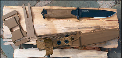 Couteau Tactical/Survival Gerber Strongarm Coyote Acier 420HC Made USA G1059