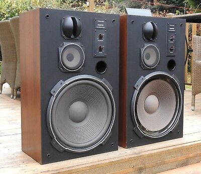Realistic Mach 2 studio monitor speakers 3-way loudspeakers part restored
