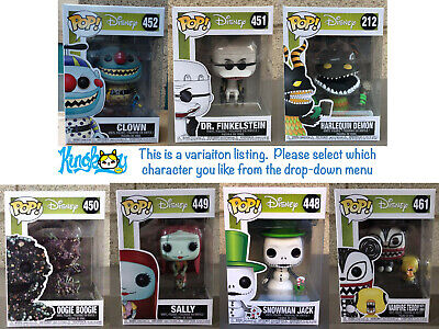 Funko POP! Animation: Disney - The Nightmare Before Christmas (Variation Listing