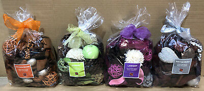 Global Home Accents Scented Fragranced Pot Pourri Gift Bag Glitter Ball 5 Scents