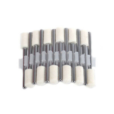 25pcs 3x8 Felt Polishing Buffing Pad Head Set for Rotary Tools Dremel/_OD