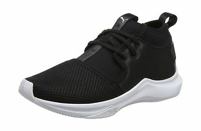 e33dc235ee4 PUMA WOMEN S PHENOM Low Satin Ep WN s Cross Trainers Puma Black-puma ...