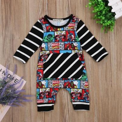 S-772 Marvel Black/White Strip Jumpsuit (Ready to Ship from Ohio)(Free Shipping)