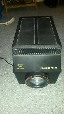 Braun Paxiscope XL Projector with instruction book,great working order,clean,