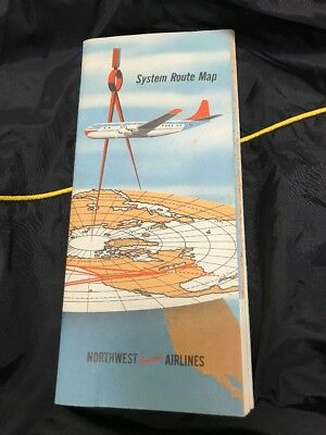 SYSTEM ROUTE MAP Northwest Orient Airline 1950 R23 - $29.99 ... on northwest cargo, northwest area map, northwest weather map, northwest parkway map, northwest boulevard map,