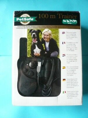 PETSAFE 100 METRE REMOTE CONTROL TRAINER FOR 18 Kg + DOGS - UNUSED OLD STOCK