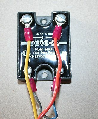 Opto 22 Model 240D3 Solid State Relay