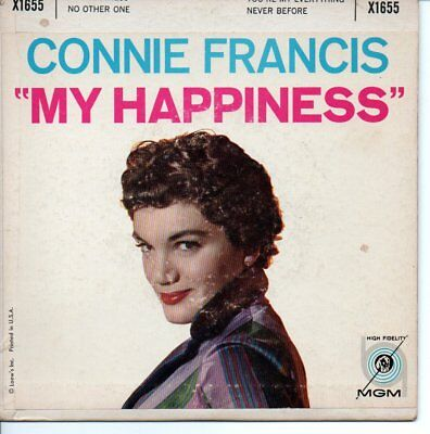 Connie Francis ++Ep++My Happiness++Usa+++