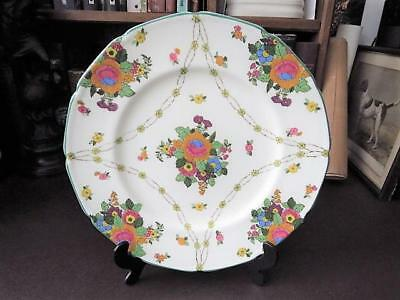 1930's Royal Doulton Hand Decorated Display Plate