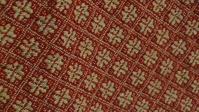 "Family Heirloom Weavers Table Runner-45"" long- Beautiful Christmas Color Runner"
