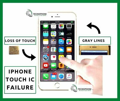 Repair Service For iPhone 6/6 Plus Touch IC, no touch and grey bars