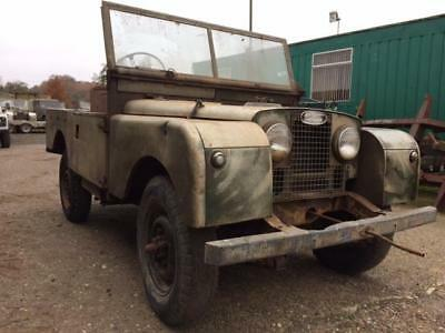 Land Rover Series 1 86 inch - Fantastic Patina - For Restoration