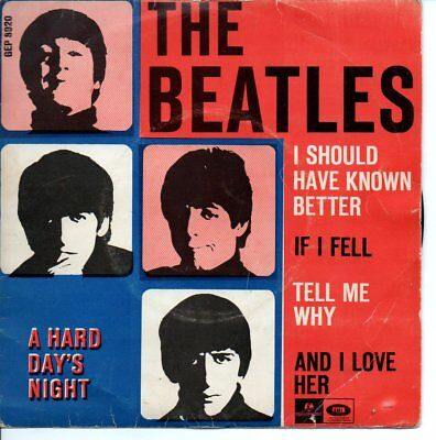 The Beatles ++Ep++I Should Have Known Better++Dänemark+++