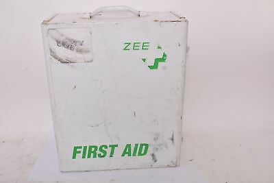 Vintage ZEE First Aid Kit Large, Full W/ Medical Supplies Included