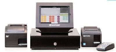Shopkeep POS System Point Of Sale with Barcode Scanner & Credit Card Reader