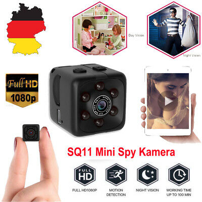 SQ11 Spy Cam Mini Kamera 1080P HD Camcorder Nachtsicht Mini DV Spycam Security