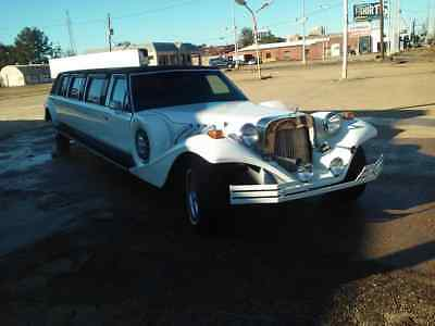 1989 Lincoln Town Car black faberic roof Excalibur limo