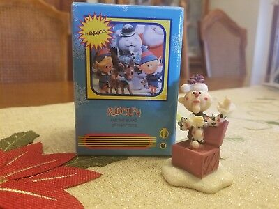 Enesco Rudolph Island of Misfit Toys  857866, Charle-in-the-box