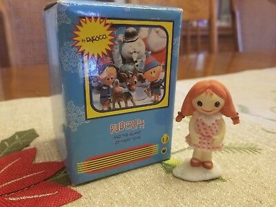 "Enesco Rudolph And The Island Of Misfit Toys  ""Rag Doll"" 857912 RARE!"