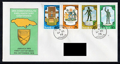 Jamaica - 1978, 24th Commonwealth Parliamentary Conference FDC