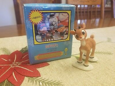 Enesco Rudolph And The Island Of Misfit Toys - Rudolph # 857815 Figurine