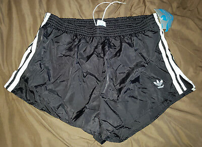 NEW Adidas Nylon Soccer Shorts D8 XL Ibiza Sprinter Vintage Retro Oldschool