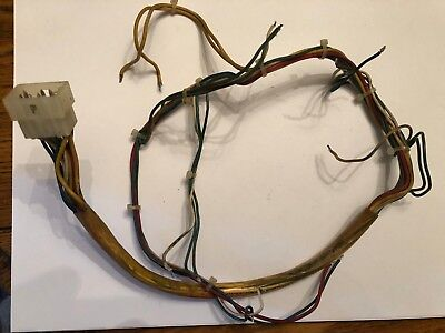 Used Williams Pinball coin door wiring harness with connector