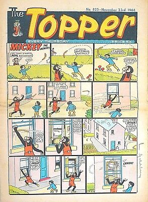 TOPPER - 23rd NOVEMBER 1968 (21 - 27 Nov) RARE 50th BIRTHDAY GIFT !! FINE beezer